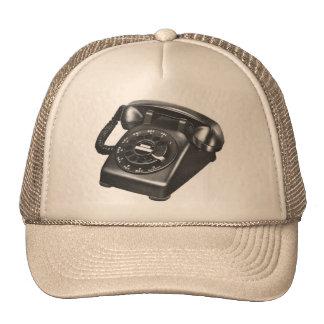 Retro Vintage Kitsch Telephone Model 500 Rotary Trucker Hat