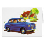Retro Vintage Kitsch The Great Sunday Drive Card