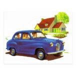 Retro Vintage Kitsch The Great Sunday Drive Postcards