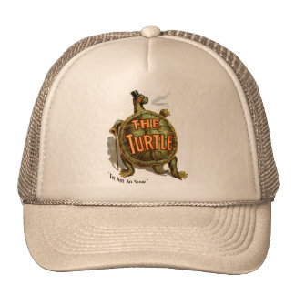 Retro Vintage Kitsch The Turtle I'm Not So Slow Trucker Hat