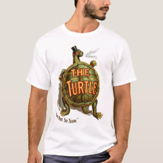 Retro Vintage Kitsch The Turtle I'm Not So Slow T-Shirt