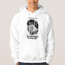 Retro Vintage Kitsch The Unpublished Facts of Life Hoodie
