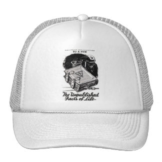 Retro Vintage Kitsch The Unpublished Facts of Life Trucker Hat