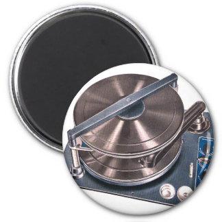 Retro Vintage Kitsch Turntable Phonograph Paillard Magnet