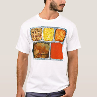 Retro Vintage Kitsch TV Dinner Beef & Tomato Soup T-Shirt