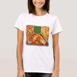 Retro Vintage Kitsch TV Dinner Pork Loin T-Shirt