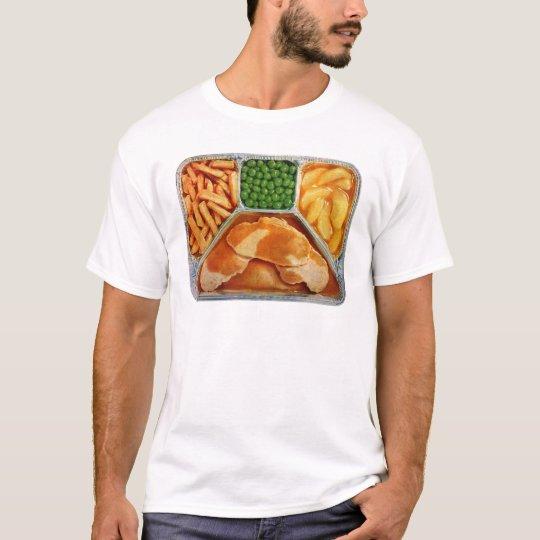 Retro Vintage Kitsch TV Dinner Pork Loin T-Shirt