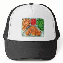 Retro Vintage Kitsch TV Dinner 'Shrimp' Trucker Hat