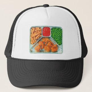 Retro Vintage Kitsch TV Dinner 'Shrimp' Trucker Hat