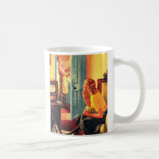Retro Vintage Kitsch TV Television Early TV Viewer Coffee Mug