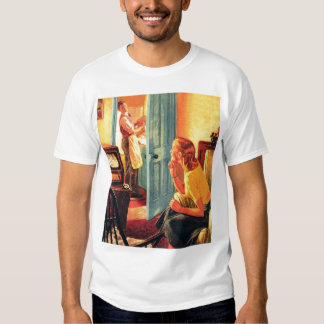 Retro Vintage Kitsch TV Television Early TV Viewer T-shirt