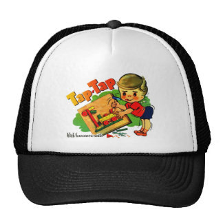 Retro Vintage Kitsch UK Tap-Tap Toy Kit Trucker Hat