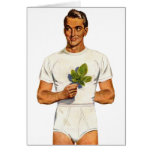 Retro Vintage Kitsch Underpants Whitey Tighties Greeting Card
