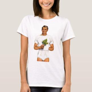 Retro Vintage Kitsch Underpants Whitey Tighties T-Shirt