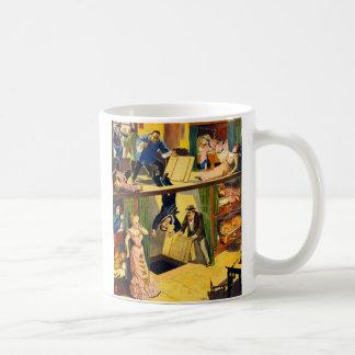 Retro Vintage Kitsch Vaudeville 'Opium Den Murder' Coffee Mug