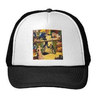 Retro Vintage Kitsch Vaudeville 'Opium Den Murder' Hat