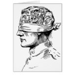 Retro Vintage Kitsch Vice Is Your Head Diseased? Card