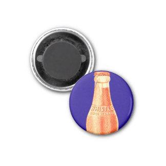 Retro Vintage Kitsch Whistle Soda Pop Bottle Ad Magnet