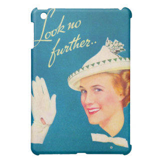 Retro Vintage Kitsch Women Look No Further Woman Case For The iPad Mini
