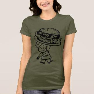 Retro Vintage Kitsch Zim's Hamburgers T-Shirt