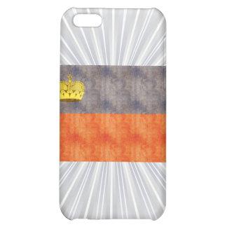 Retro Vintage Liechtenstein Flag Cover For iPhone 5C