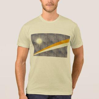 Retro Vintage Marshall Islands Flag T Shirt