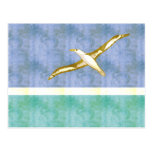 Retro Vintage Midway Islands Flag Post Cards