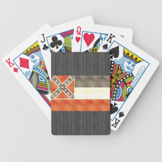 Retro Vintage Mississippi Flag Bicycle Playing Cards