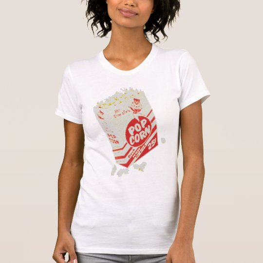 Retro Vintage Movie Theater Popcorn T-Shirt