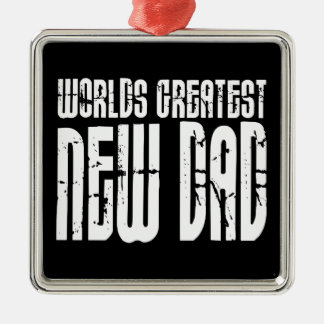 Retro Vintage New Dads : World's Greatest New Dad Ornament