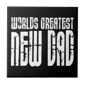 Retro Vintage New Dads : World's Greatest New Dad Tile