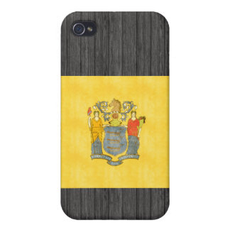 Retro Vintage New Jersey Flag iPhone 4 Covers