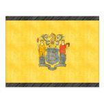 Retro Vintage New Jersey Flag Postcard