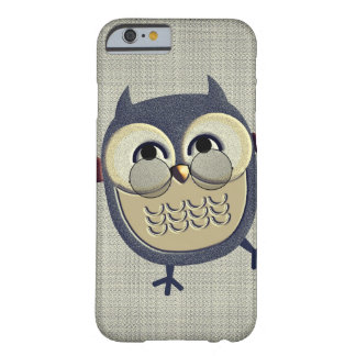 Retro Vintage Owl Barely There iPhone 6 Case