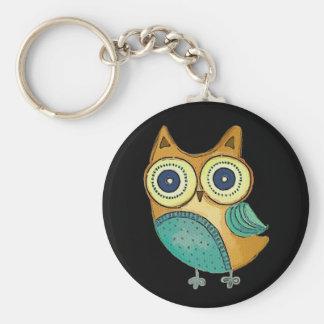 Retro Vintage Owl Keychains