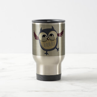 Retro Vintage Owl Coffee Mugs