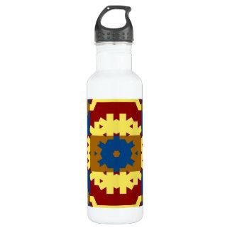 Retro Vintage Pattern - Water Bottle