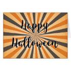 Retro Vintage Plain Blank Happy Halloween Card