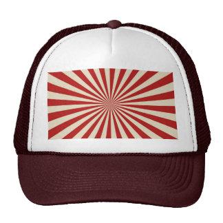Retro Vintage Popcorn Classic Spinning Wheel Trucker Hat