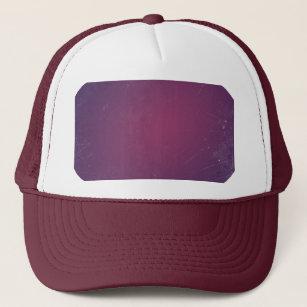 24c0a47c Retro Vintage Purple Plum.Elegant Solid Color Trucker Hat