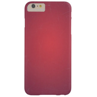 Retro Vintage Red Cyclamen Elegant Pattern Barely There iPhone 6 Plus Case
