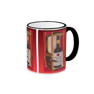Retro vintage Regency Cream Sherry Ringer Coffee Mug