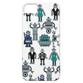 Retro Vintage Robots for Steampunk Geeks iPhone SE/5/5s Case