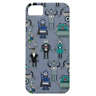 Retro Vintage Robots - Steampunk Geek design iPhone SE/5/5s Case
