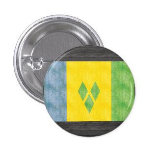 Retro Vintage Saint Vincent and the Grenadines Fla Pins
