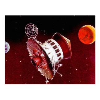 Retro Vintage Sci Fi 1967 Mars Lander Post Cards
