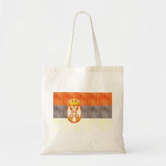 Retro Vintage Serbia Flag Bags