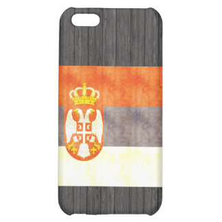 Retro Vintage Serbia Flag iPhone 5C Case