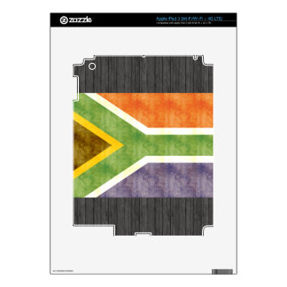 Retro Vintage South Africa Flag Skin For iPad 3