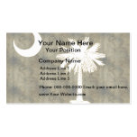 Retro Vintage South Carolina Flag Double-Sided Standard Business Cards (Pack Of 100)